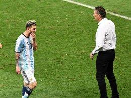 Argentinien: Druck auf Bauza und Messi steigt