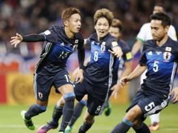 Kiyotake und Haraguchi lassen Japan jubeln