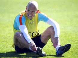 Schlüsselspiel für Elftal: Robben soll's in Sofia richten