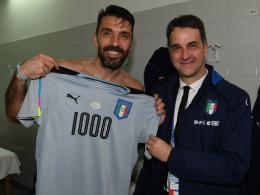 Buffon: Sieg im 1000. Spiel - Österreich jubelt spät