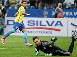 Klarer Fall: Brasilien löst das WM-Ticket