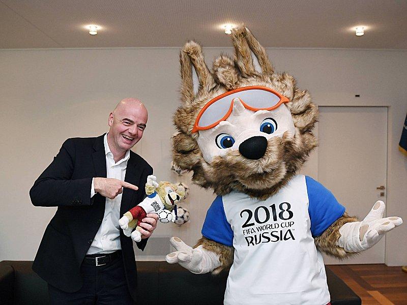 FIFA-Präsident Infantino: Videobeweis kommt bei WM 2018 zum Einsatz