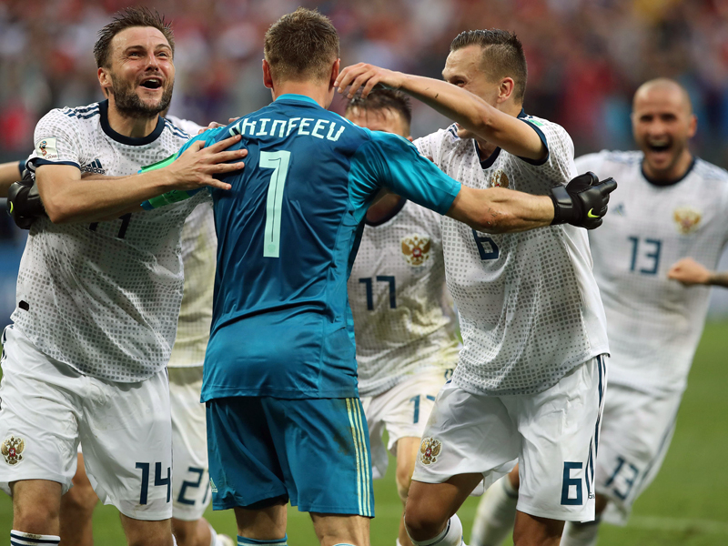 Gleich vier Franzosen: Die kicker-Elf des WM-Achtelfinals