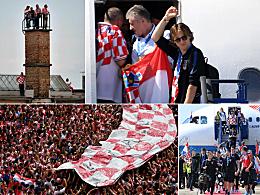 Trotz Pleite: Großer Empfang für Kroatiens WM-Helden