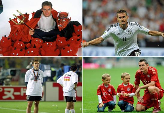 Deutschlands Nationalspieler Miroslav Klose.