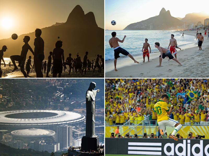 WM-Spielort Rio de Janeiro
