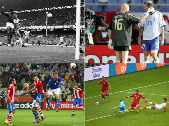 Italien, Brasilien, Frankreich, Spanien: Raus in der Vorrunde!