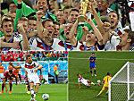 Von Müllers Elfer bis Götzes Traumtor: Der Weg zum WM-Titel