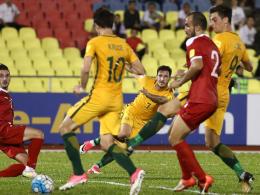 Remis gegen Syrien: Kruse-Treffer reicht Australien nicht