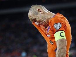 Trotz doppeltem Robben - WM ohne die Elftal
