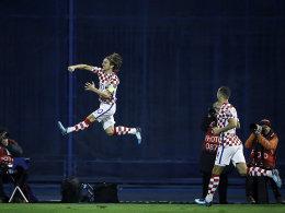Modric bringt Kroatien auf WM-Kurs