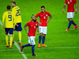 Erst Schreckmoment, dann Traumtor: Vidal ärgert Schweden