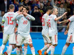 6:1! Spanien blamiert Argentinien dank glänzendem Isco
