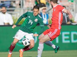 DFB-Gegner Mexiko trifft gegen Wales das Tor nicht