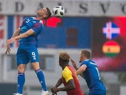 Finnbogason trifft, doch Island gewinnt nicht