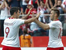 Doppelpack! Lewandowski schießt sich für WM warm