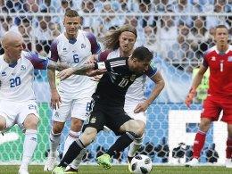 Island trotzt Argentinien - Messis Elfmeter-Leiden
