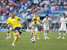 Granqvist sorgt für schwedischen Auftaktsieg