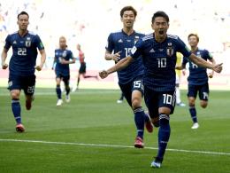 Osako macht Japans Überraschung perfekt
