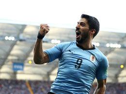 Suarez bestraft - Uruguay steht im Achtelfinale