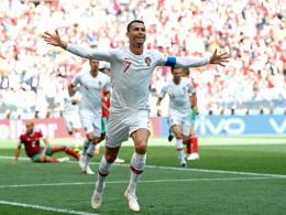 Ronaldo köpft Portugal gegen starke Marokkaner zum Sieg