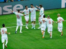 Tapferer Iran hadert mit Diego Costas Knie
