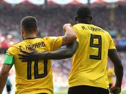 Hazard und Lukaku sorgen für deutlichen Sieg Belgiens