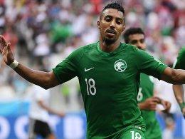 Al-Dawsari bezwingt Rekord-Keeper El-Hadary