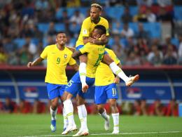 Paulinho edel, Thiago Silva kraftvoll: Brasilien Gruppensieger!