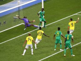 Yerry Mina köpft Kolumbien ins Achtelfinale - Senegal aufgrund Fair-Play-Wertung raus!