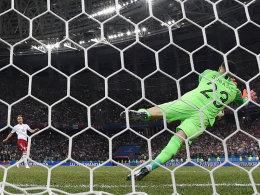 Subasic pariert dreimal: Kroatien im Viertelfinale