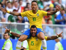 Geduldiges Brasilien dankt Superstar Neymar