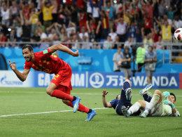 Nach 0:2: Chadli schießt entfesseltes Belgien eine Runde weiter