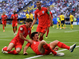 Zwei Kopfbälle hieven England ins Halbfinale