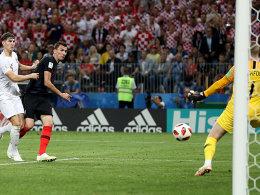 Kroatien im Finale! Mandzukic macht die Sensation perfekt