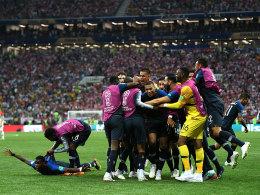 Frankreich ist Weltmeister! 4:2 gegen starkes Kroatien