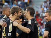Boateng, Müller, Klose und Podolski