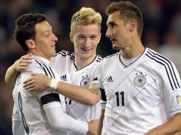 Mesut Özil, Marco Reus & Mirsolav Klose