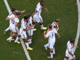 Schon früh hatte die DFB-Elf Grund zum Jubeln.