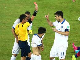 Konstantinos Katsouranis erwies seiner Mannschaft schon vor dem Seitenwechsel einen Bärendienst.