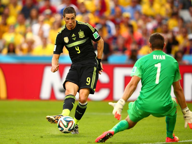 Fernando Torres & Mathew Ryan