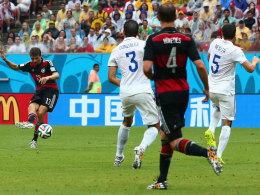 Thomas Müller trifft zum 1:0
