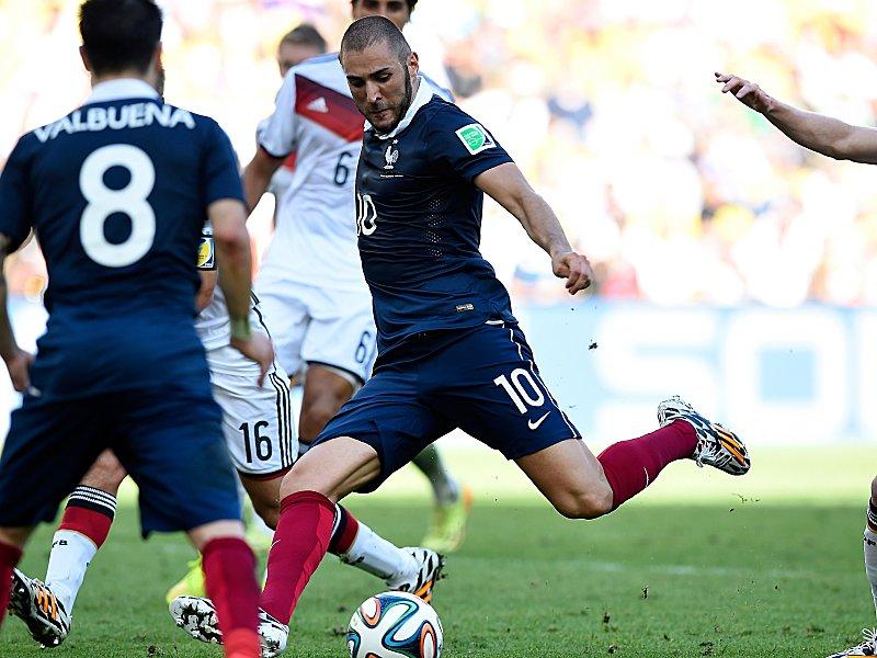 Gefährlichster Franzose: Karim Benzema von Real Madrid.