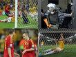 Die Spanier hatten gegen Brasilien nichts zu bestellen. Das Finale in Bildern ...
