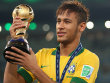 Dr�ckte dem Confed-Cup im Heimatland den Stempel auf: Brasiliens Jungstar Neymar.