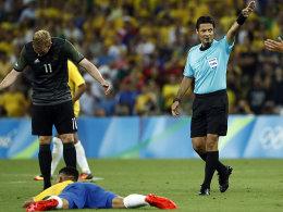Faghani pfeift die DFB-Auswahl