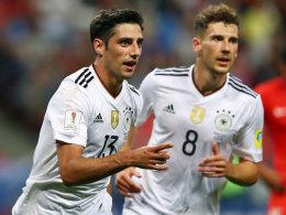 Bilder: DFB-Elf bleibt standhaft - Socceroos punkten