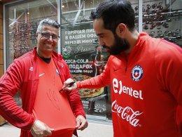Bravo bereit: Torwartwechsel bei Chile möglich