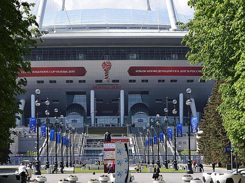 Confed Cup: Russland gewinnt Eröffnungsspiel gegen Neuseeland