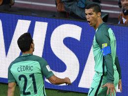 Dank Ronaldo: Portugal schlägt schwache Russen